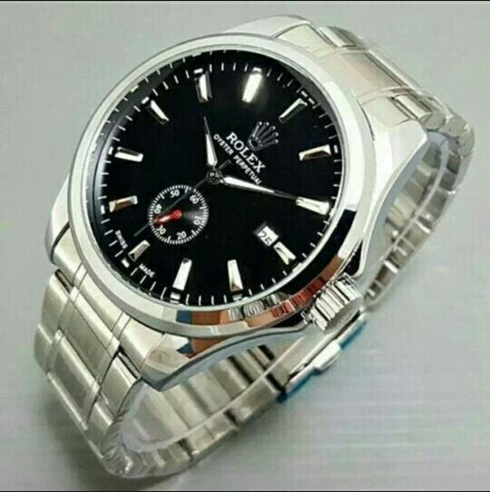 Jam Tangan Pria Rolex Automatic Chrono Aktif Mesin Terlaris