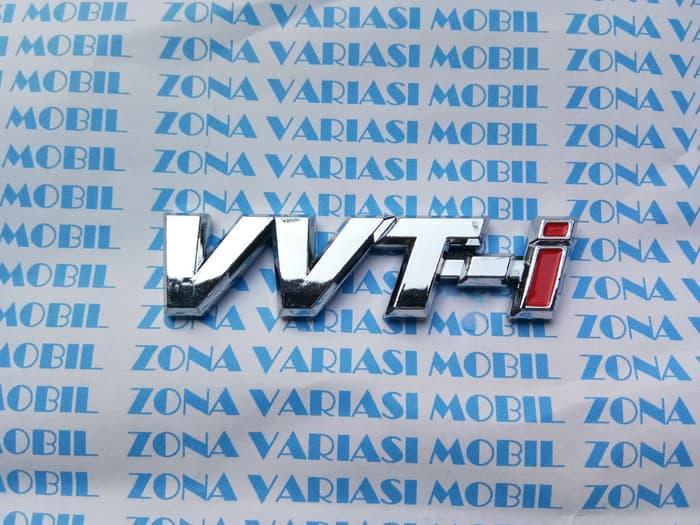 Emblem VVTi Untuk Vios Avanza Xenia Innova Rush Terios Dll