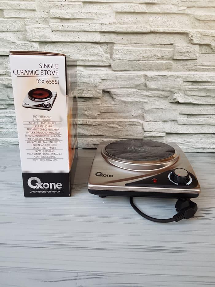 PROMO OXONE SINGLE CERAMIC STOVE OX 655 S / KOMPOR LISTRIK OXONE OX655S NEW