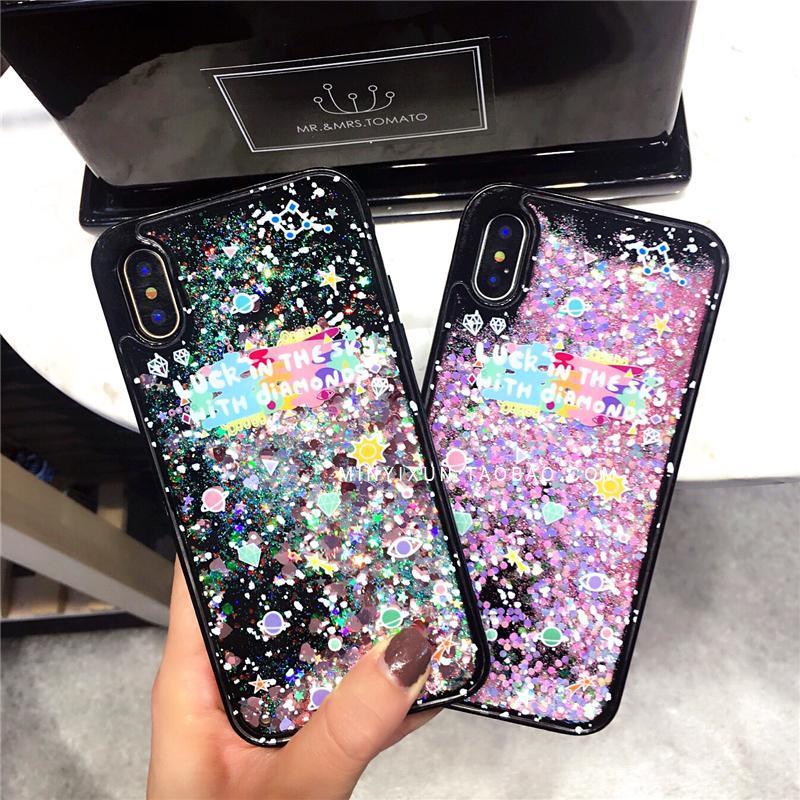 Selubung Ponsel Iphone6s Jepang atau Korea Selatan Model Sama Selubung Ponsel 8 PLUS Bedak Mengkilap Apple Identitas