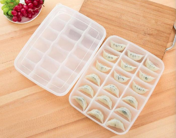 PROMO Sushi Box Kotak Besar 18 Sekat Penyimpanan Makanan Pangsit Kulkas TERLARIS