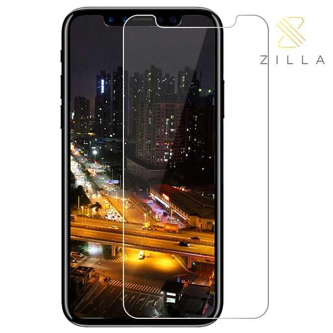 PROMO MURAH Anti Gores HP Aplle Terbaru Zilla 2.5D Tempered Glass Curved Edge 9H 0.26mm for iPhone X