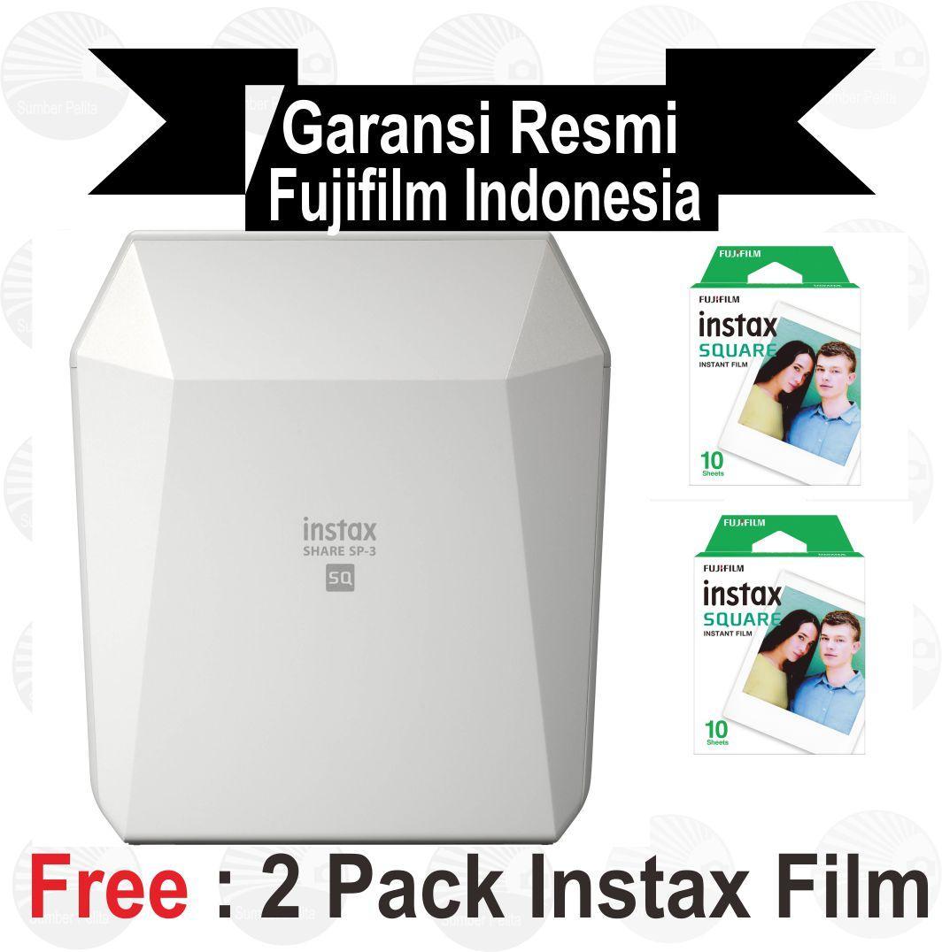 Fujifilm Kamera Instax Share Sp 2 Polaroid Camera Garansi Resmi Pwp X100f Indonesia 1tahun Abu Muda Sp3 S P3 White