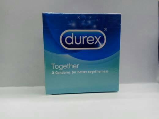 DUREX TOGETHER Isi 3 Condoms For Better Togetherness