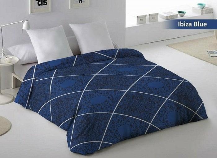 Selimut Flanel Fata Dewasa  Ibiza Blue uk. 200 x 220 Murah