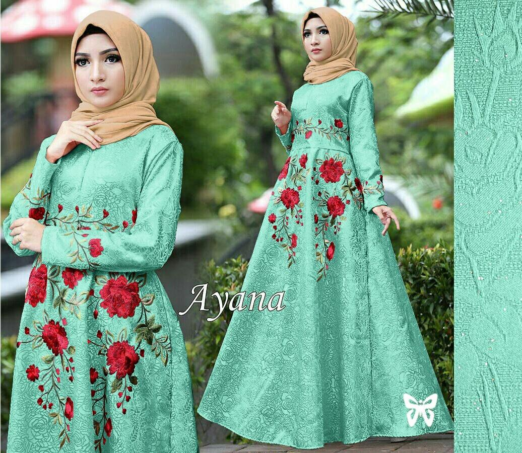 J&C Dress New Ayana Gliter / Dress Maxi / Maxi Muslim / Dress Jumbo / Dress Big Size / Dress BigSize / Setelan Maxi Dress / Dress Muslim / Setelan Busana Muslim / Setelan Baju Muslim / Baju Gamis Wanita / Hijab Fashion / Hijab Style