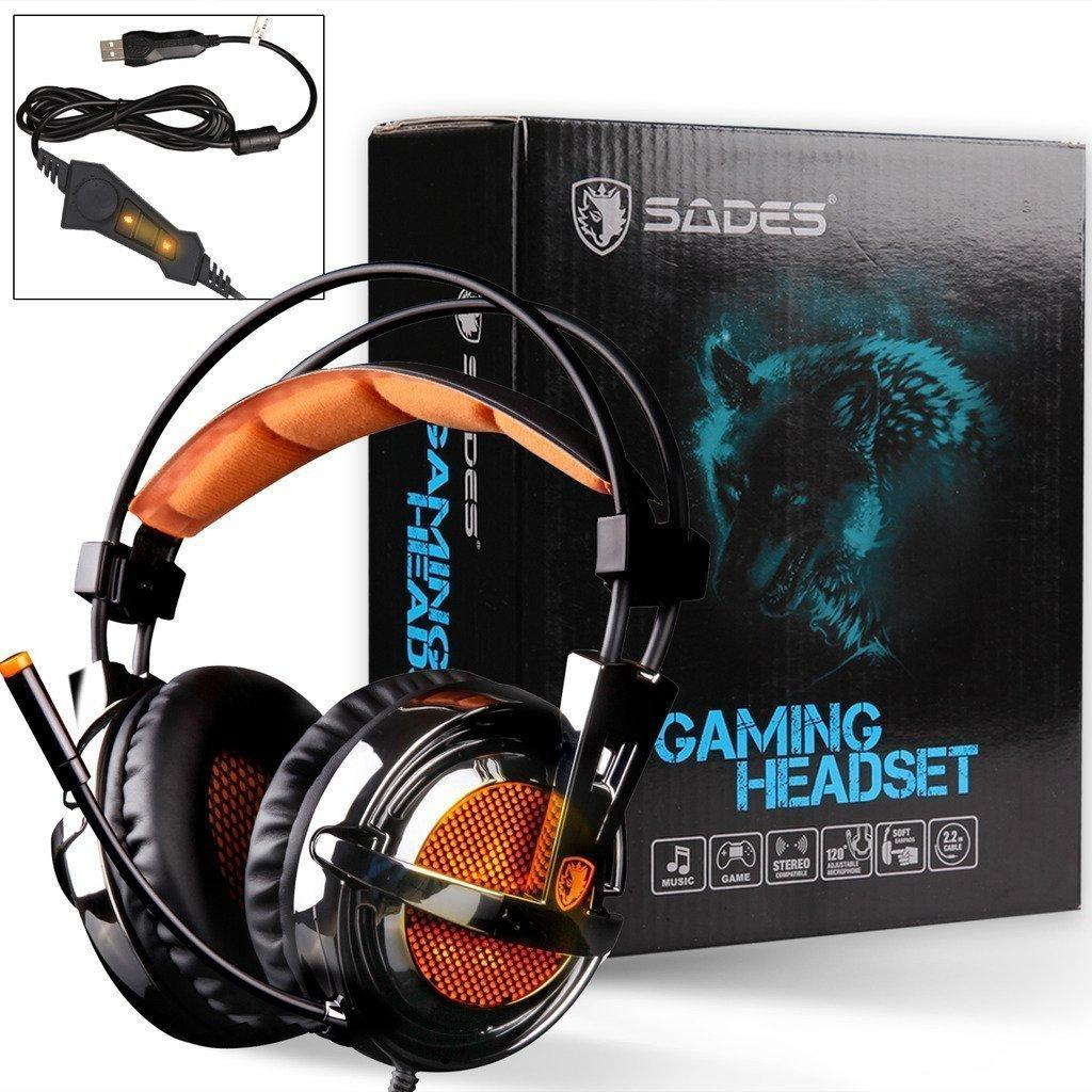 Buy Sell Cheapest Sades Sa 704 Best Quality Product Deals Gaming Headset Tpower 701 A6 Locust Headphone Dota Pb Csgo