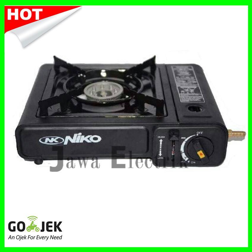 Niko Kompor Gas Portable 2in1 NK-268 Gas Kaleng & LPG