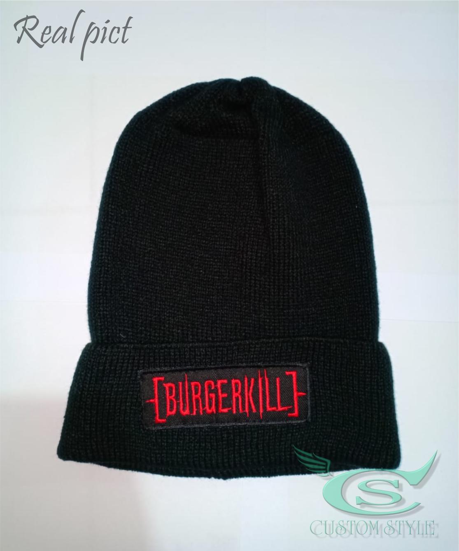 Topi Pria / Topi Kupluk BURGERKILL - Topi Kupluk Pria / wanita