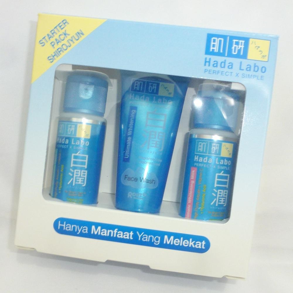 Hada Labo Paket Starter Pack Shirojyun - Whitening 20 gr