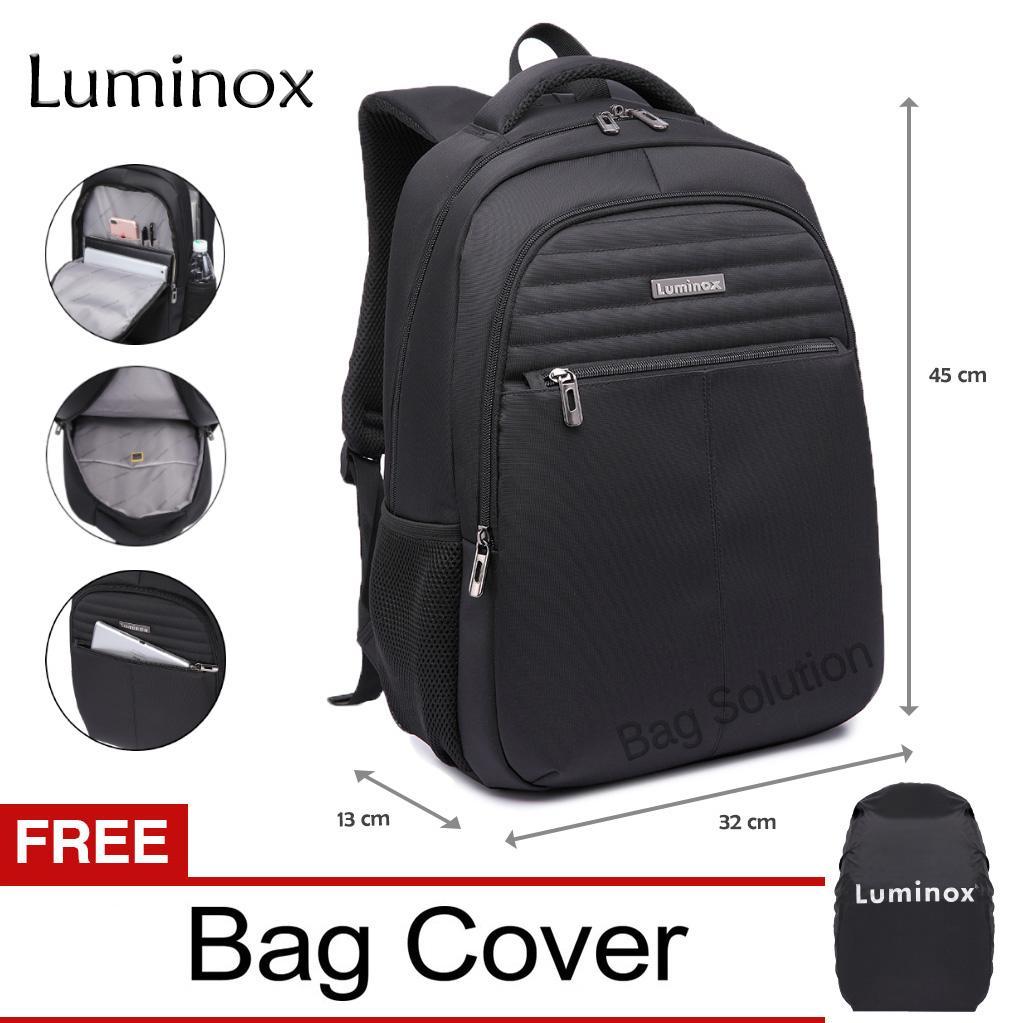 Luminox Tas Ransel Laptop - Tas Pria Tas Wanita Tas Laptop Tas Punggung - Backpack Up to 15 inch An