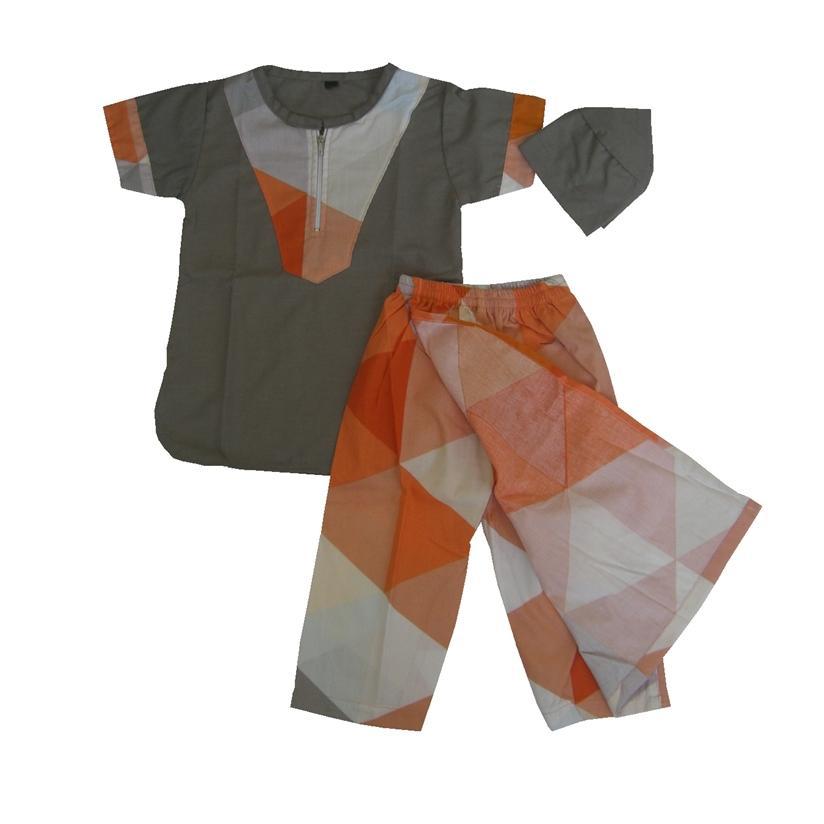 Sarkoci Size XS ( Estimasi 6-12 bln ) Setelan Baju Koko + Sarung Celana