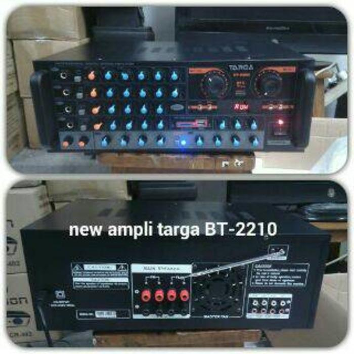 ORIGINALS Power Amplifier Mixer Targa BT 2210 USB, Radio, Bluetooth, SD Card