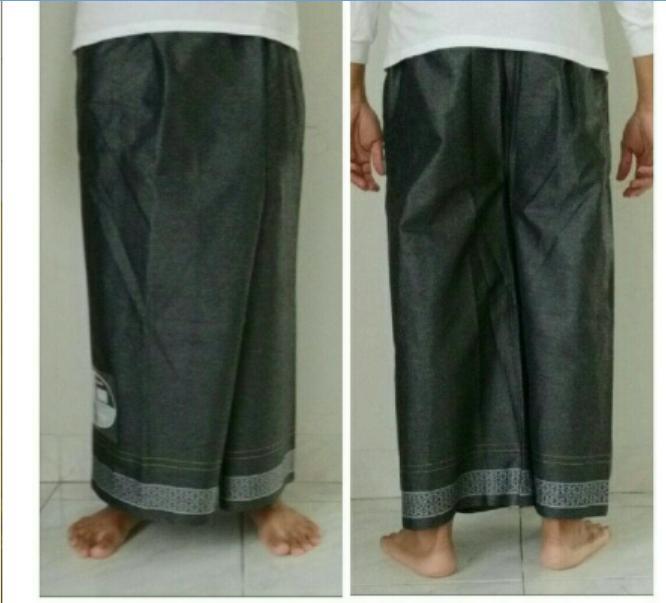 Sarung celana Uje Sarcel Moisino bukan sarung bhs atlas wadimor - Biru