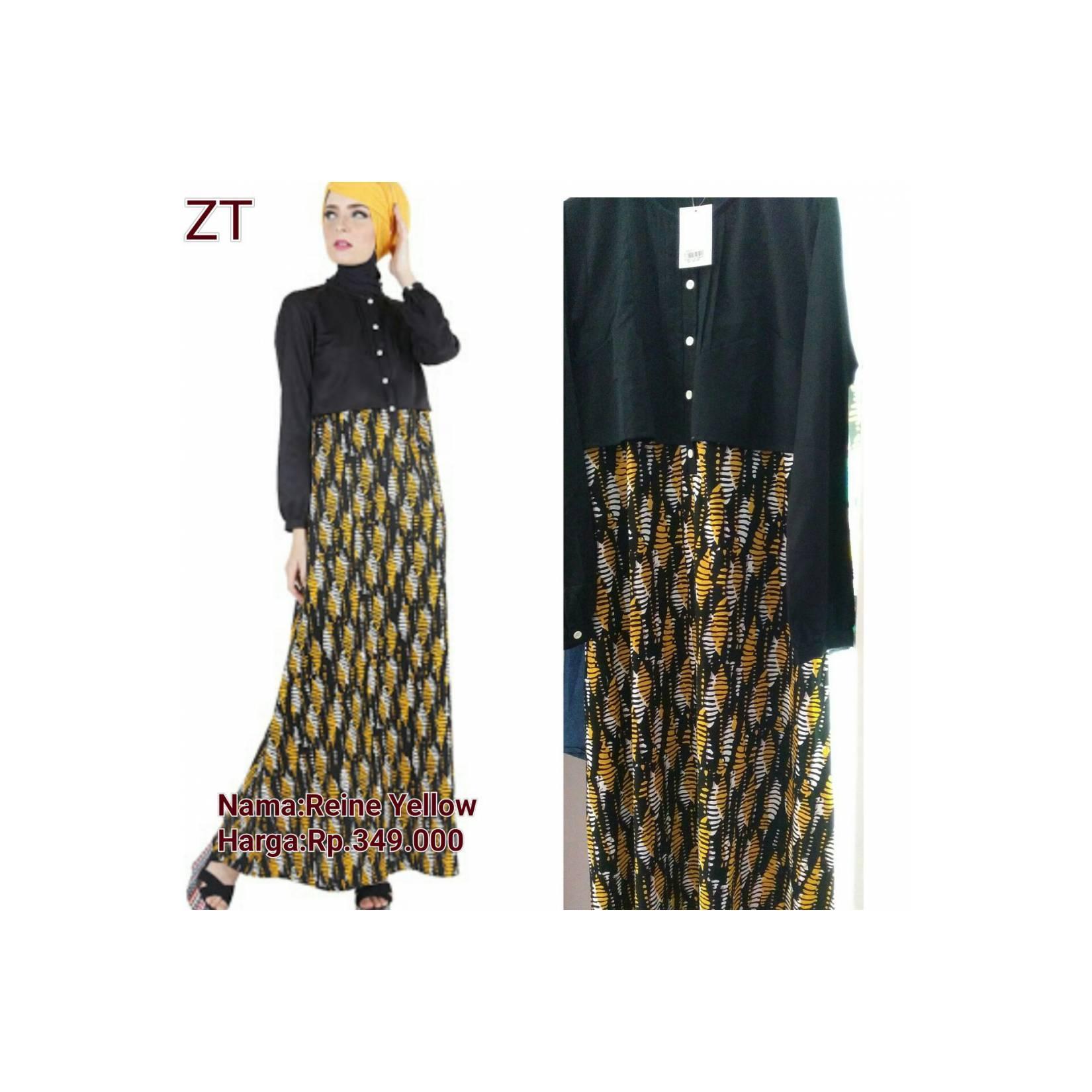Zoya Gamis Reine Yellow