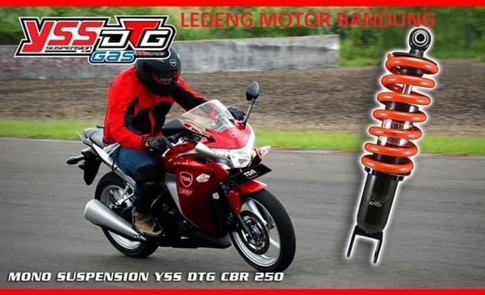 YSS DTG CBR 250cc Shockbreaker Mono Shock Gas Hybrid 29