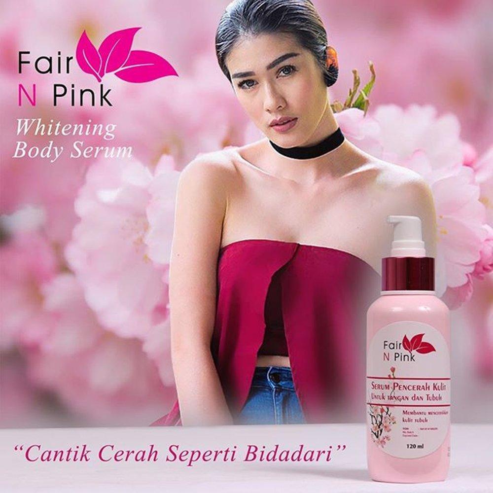 Jual Produk Fair N Pink Terbaru Serum Badan Body 160ml Whitening Orginal 100 Hand And Lotion 120ml