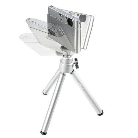 Tripod MIni Kamera Hp Handphone Tripod Stand with Phone Clip Bracket Holder Mount For iphone Samsung Mobile phone for Gopro Hero 5 4 3 2 Action Camera