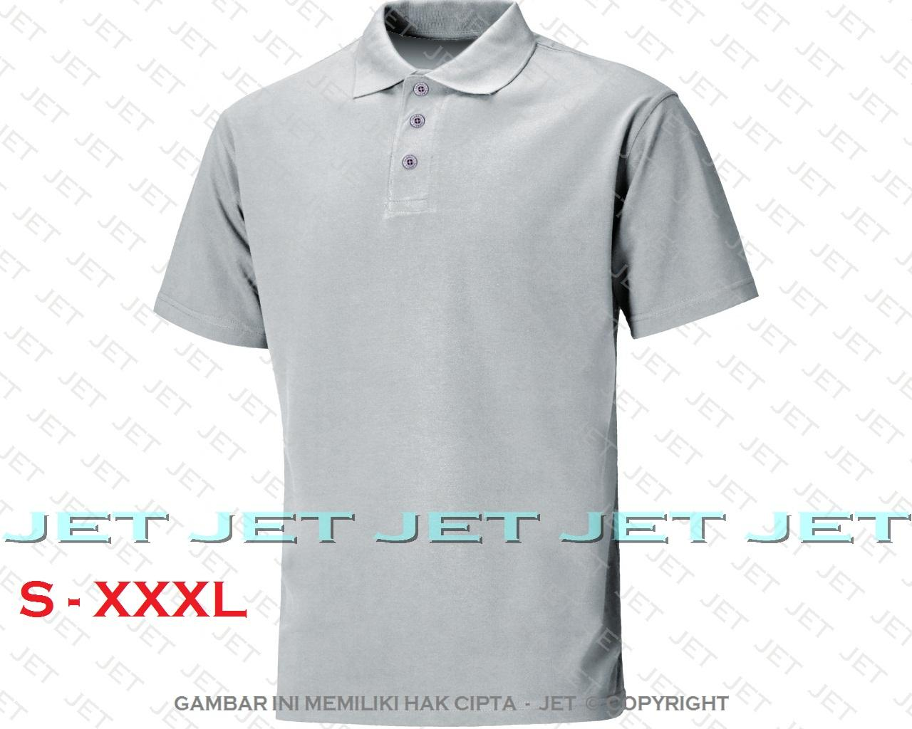 POLO JET - S M L XL XXL XXXL 2L 3L 22 WARNA Polo Shirt Kaos Distro T