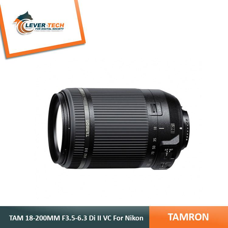 Tamron 18-200mm F/3.5-6.3 DI-II VC For Nikon