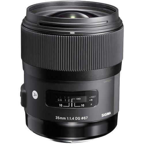 Sigma For Sony 35mm f/1.4 DG HSM | ART