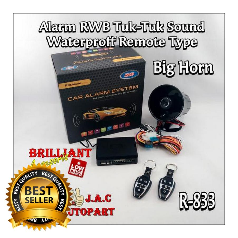 Alarm RWB seri Waterproof TypePremium Class Best of AlarmTuk-Tuk Sound Type