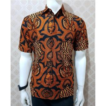 Harga Baru Baju Batik Model Baju Batik Sogan Parang Garuda Baju