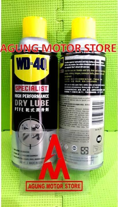 WD40 Specialist High Performance Dry Lube PTFE (360ml)