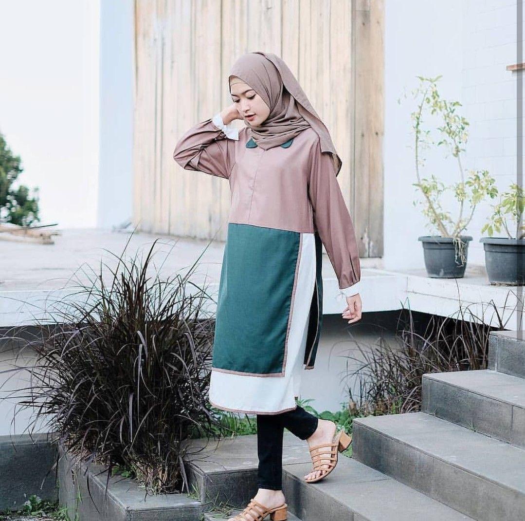 Azure Fashion Mery Atasan Sabrina Wanita Navy Daftar Harga Terbaru Blazer Panjang By Ayuka Un Murah I Tunik Blouse Top