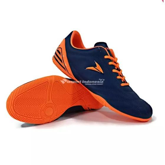 Sepatu Futsal Calci Nobleman Copa ID Navy Orange Murah