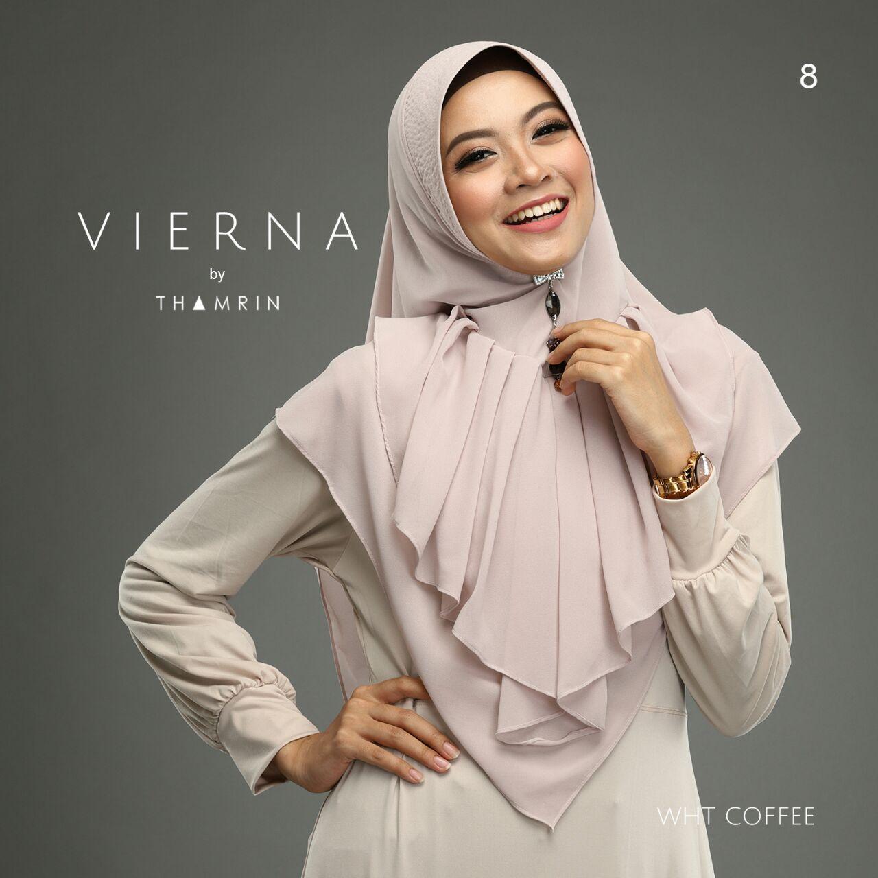 Hijab Khimar Vierna Umadera