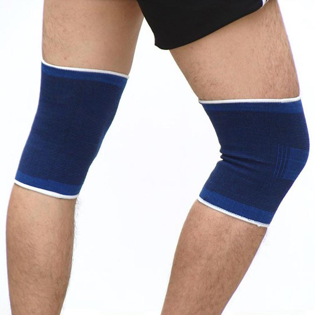Knee Support -Pelindung Kaki Pelindung Lutut Patela Betis - Elastic Knee Brace Strap Guard Support Sleeve Compression Leg - Pelindung Kaki Anti Beset Peralatan Olahraga - Deker Olahraga Legging Olahraga Warna Random By Babytalkclub.