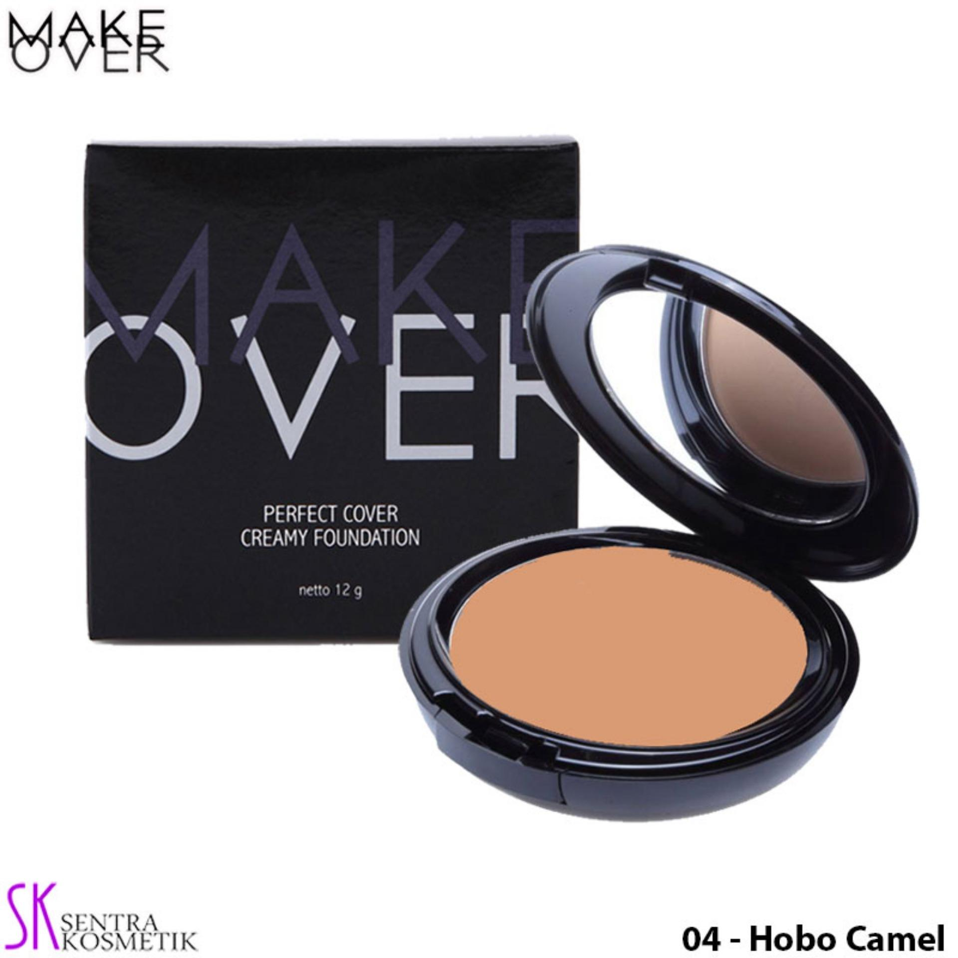Foundation Make Over Terbaru Ultra Cover Liquid Matt 33 Ml Perfect Creamy 04 Hobo Camel