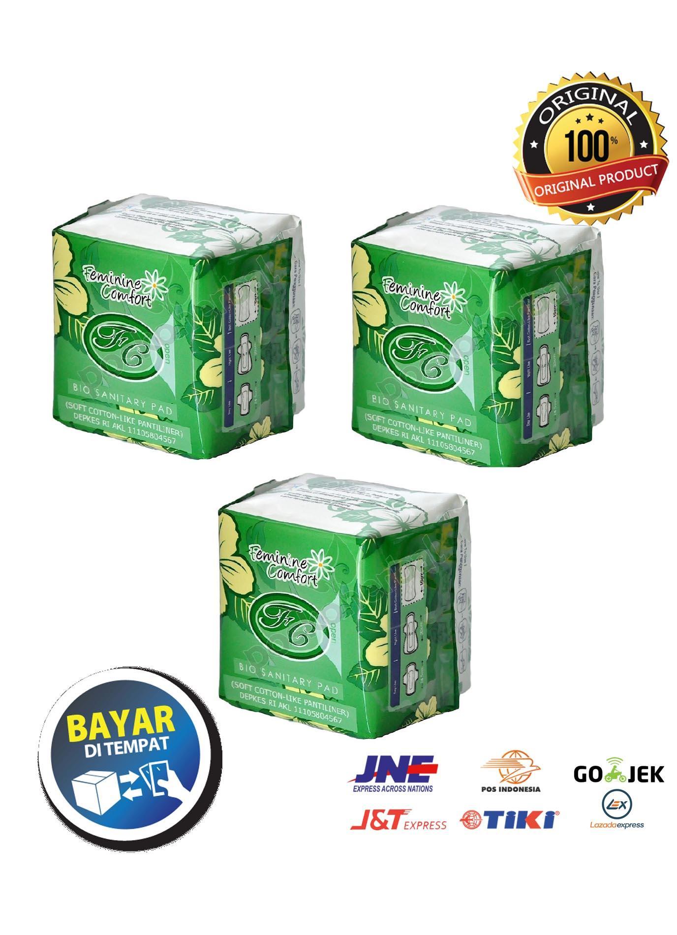 [ Paket 3 Pcs ] Avail Pembalut Herbal Pantyliner By Tyoolshop.