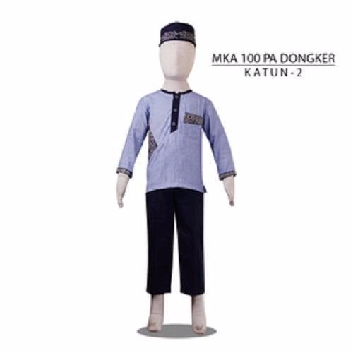 MKA100PADongker(8-10tahun) harga baju koko anak grosir jubah