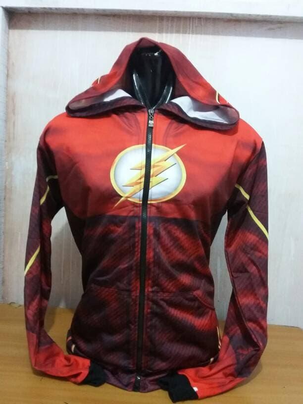 The Flash. Hoodie Custom.