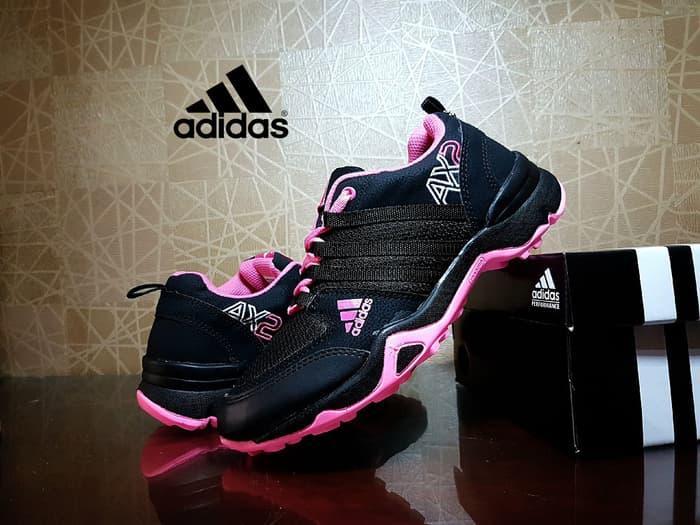 TERLARIS..! sepatu adidas AX2 hitam pink  sepatu santai   sepatu sneakers   2adb337771