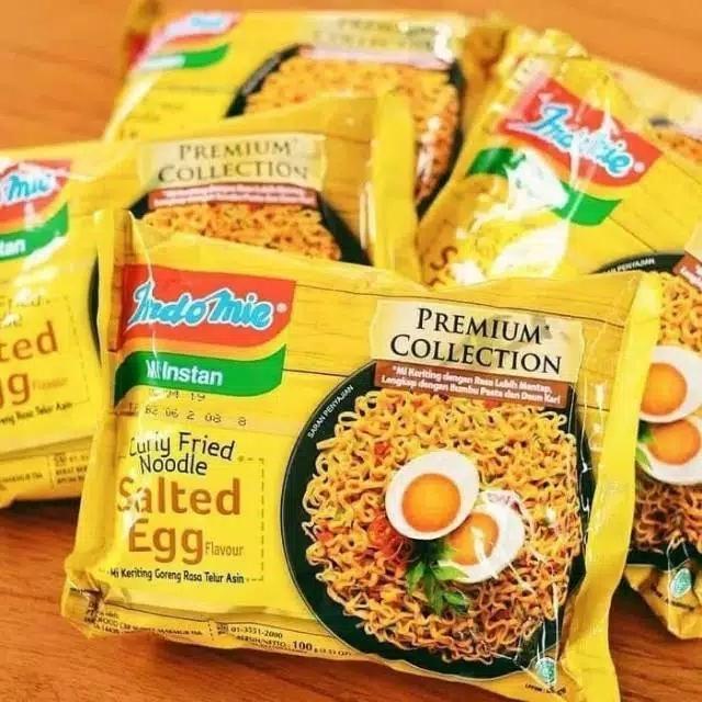 Indomie goreng salted egg