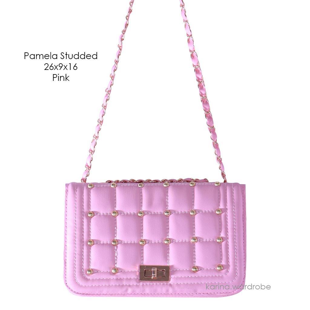 Buy Sell Cheapest Promo Pamela Best Quality Product Deals Handuk Jumbo By Lenuta Karina Wardrobe Studded Bag Pink Tas Wanita Murah Ransel Sling Bahu Fashion Cewek