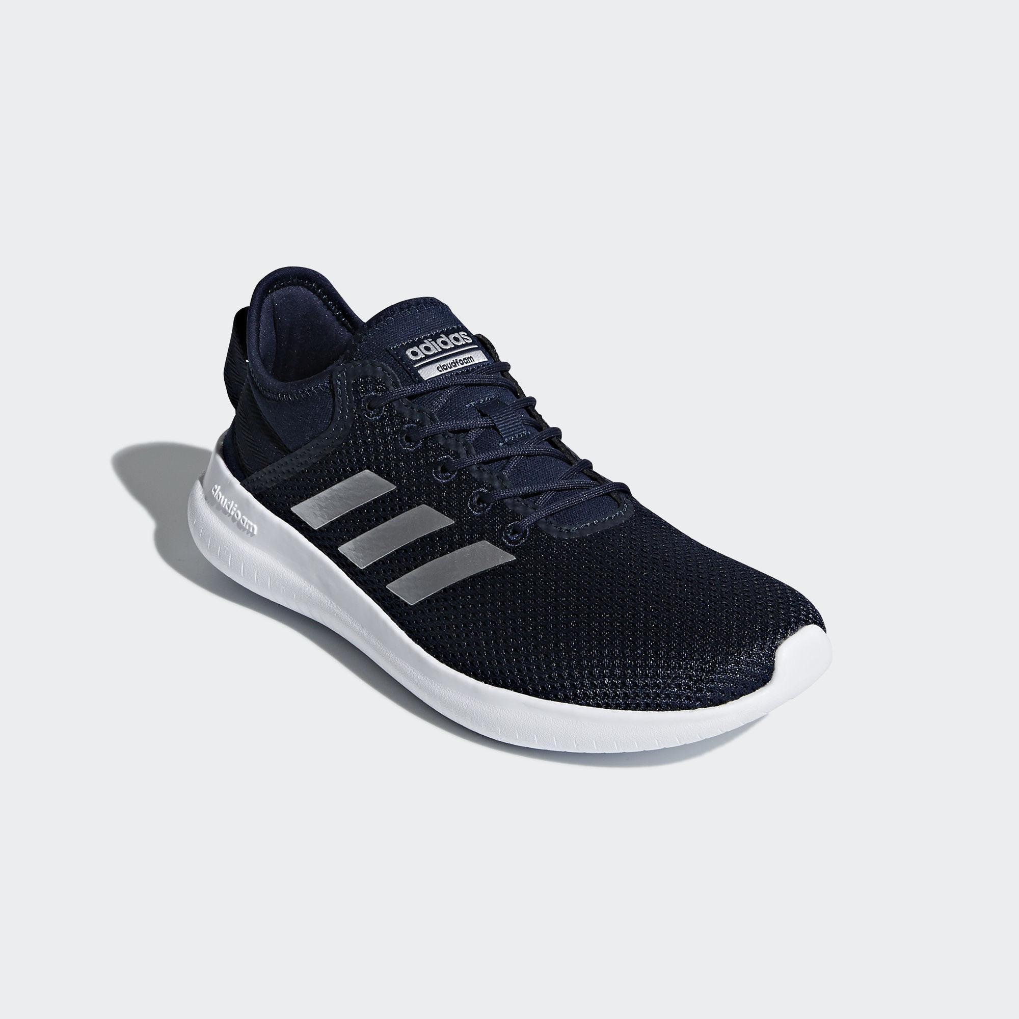 Adidas sepatu running Cloudfoam QT Flex W - DA9837 - Navy 41780d77df