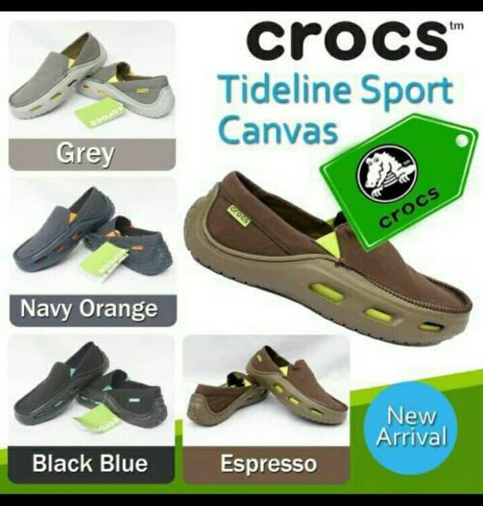 Crocs tideline sports canvas murah - MlzSpf