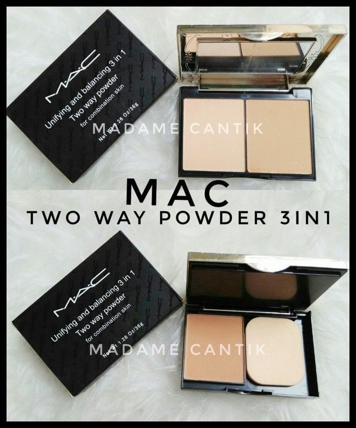 MAC TWO WAY POWDER 3 IN 1 – BEDAK MAC 3 IN 1