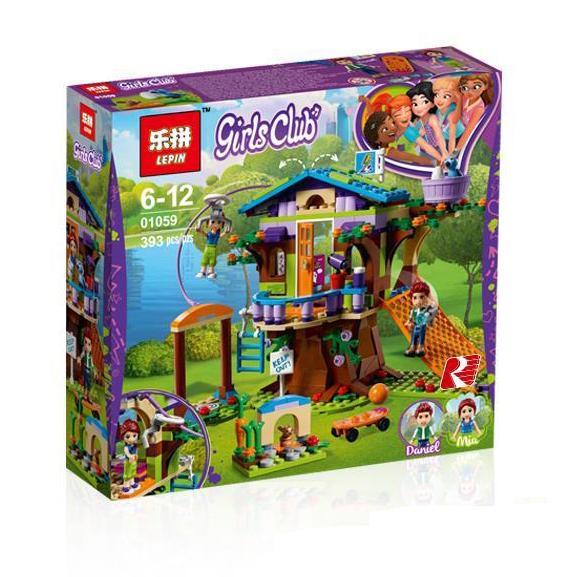 Lego KW merk LEPIN Friends 01059 The Mia's Tree House