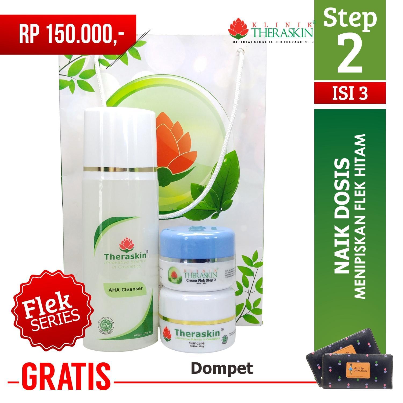 Skin Care Theraskin Day Cream Aha Suncare With Paket Hemat Flek Tebal Parah Yang Merata Untuk Semua Jenis Kulit Step 2 Naik