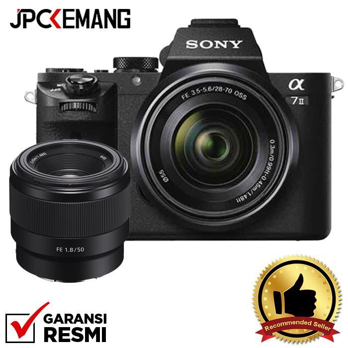 Sony Alpha A7II kit FE 28-70 + FE 50 F/1.8 jpckemang GARANSI RESMI