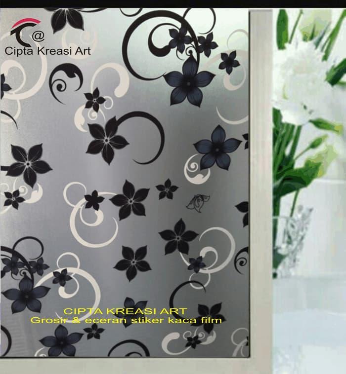 Sticker/stiker kaca/kaca film motif batik @ wall sticker dinding 3d wall paper pohon border glow in the dark animal kaca