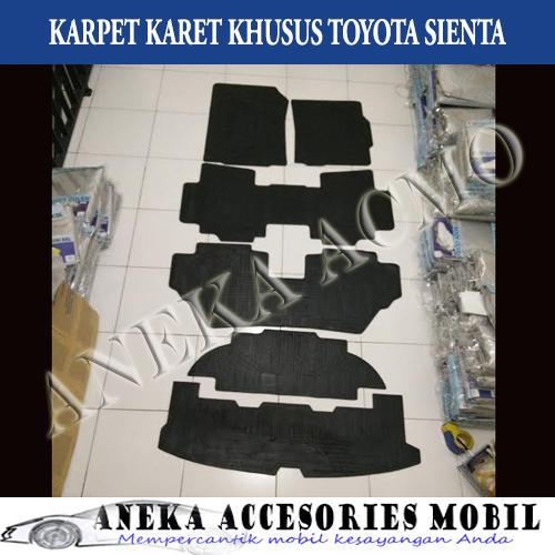 Karpet Karet  Karpet Lantai  Floor Mat Mobil Toyota Sienta