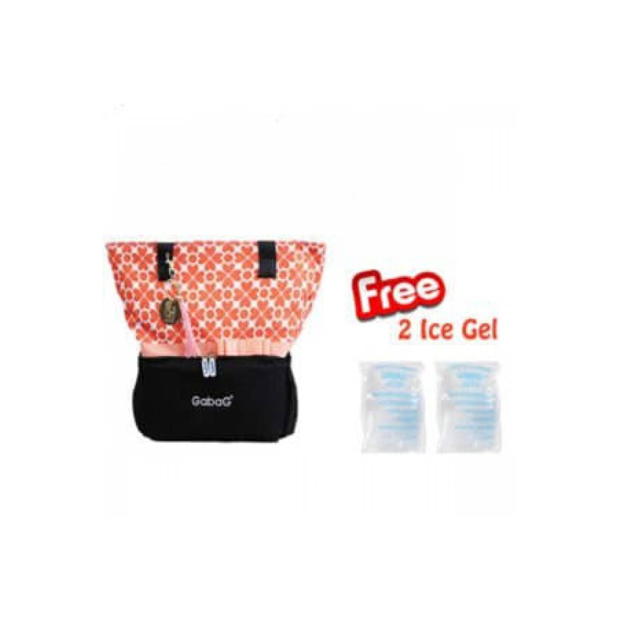 Buy Sell Cheapest New Gabag Cooler Best Quality Product Deals  Ice Gel 2 Pack Bag Tas Penyimpanan Asi Collete Promo