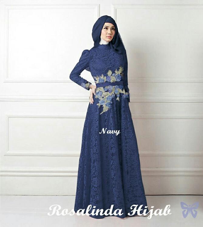 Solok Selatan Collection - Gamis Syar'i / Maxi Dress Lengan Panjang / Baru / Baju Muslim / Baju Muslimah / Baju Islami