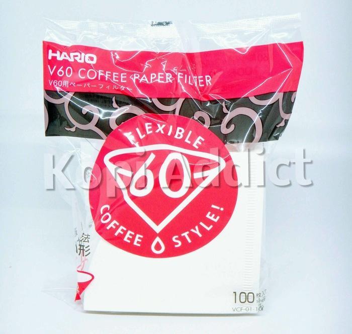 SALE - Hario V60 Paper Filter VCF 01 - 100 Lembar / Kertas Saringan Kopi Import